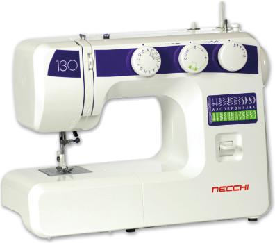 Macchine per cucire necchi n130 for Macchina cucire necchi